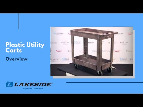 Lakeside Plastic Utility Carts Overview