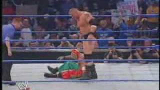 Rey Mysterio vs Brock Lesnar pt 2