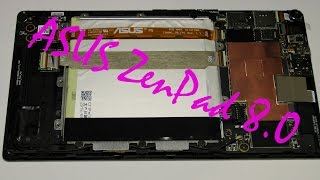 Разбор и ремонт планшета ASUS ZenPAD 8