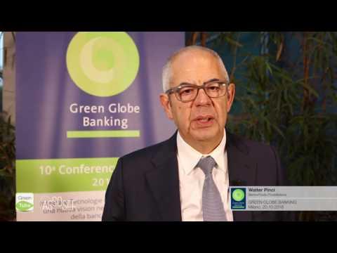 Intervista a Walter Pinci | X Edizione Green Globe Banking Conference & Award