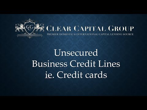 Credit Cards for your Small Business