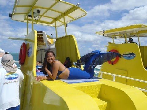 AquaWorld submarine ride Cancun Mexico