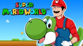Malditos Rinocerontes!! | Super Mario World Ep. 8  |