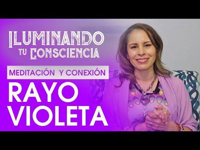 Meditación Rayo Violeta - Arcángel Zadkiel. Perdón, y AutoTransformación