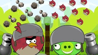 Angry Birds Cannon Collection 2 - BATTLE OF TERENCE VS HUGE PIG STONER!