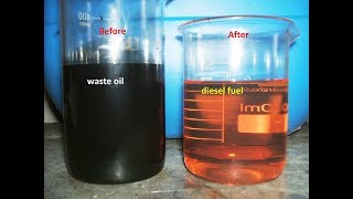 WMO - waste oİl to diesel.