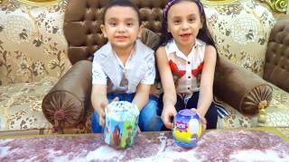 مريم وحمودي فتحوا الحصالة ياترى مين معاه فلوس اكتررررر!1