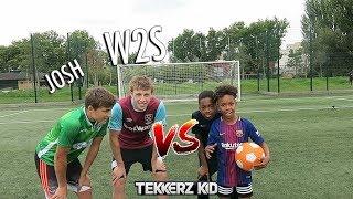 TEKKERZ KID vs W2S | Bro vs Bro Woodwork Challenge!! thumbnail