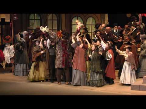 La Bohème II atto - estratti iniziali - TVE di...