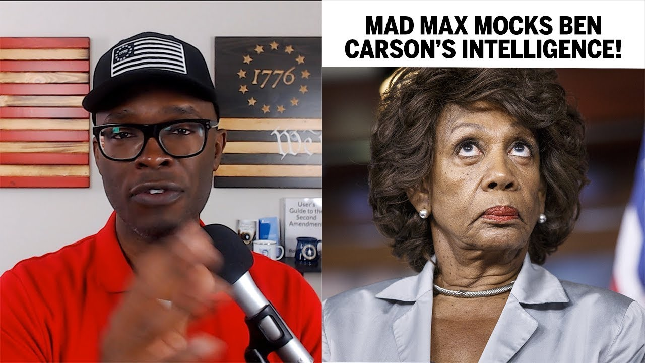 Maxine Waters MOCKS Ben Carson's Intelligence On MSNBC! - ABL