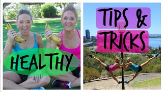 Tips for Exercise and being Healthy | Teagan & Sam