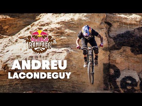 Andreu Lacondeguy's Winning MTB GoPro Run  Red Bull Rampage 2014