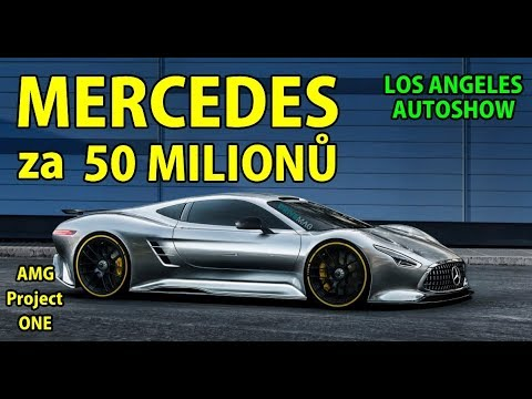 AUTO SHOW v LOS  ANGELES | AUTA za 1-50 MILIONŮ KORUN