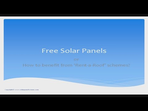 Free Solar Panels-What's the Catch and How to Benefit From Them