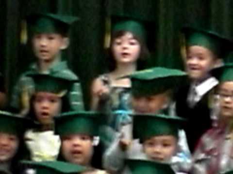 Boogers Pre-K graduation songs. 2010