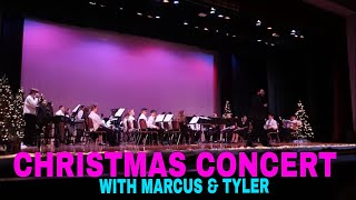 CHRISTMAS CONCERT WITH MARCUS AND TYLER AT SCHOOL 2019