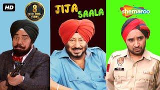 Jija Saala | B N Sharma, Jaswinder Bhalla & Rana Ranbir | New punjabi Comedy Movies 2017