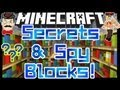 Minecraft Mods - SPY CAMO BLOCKS & Secret Rooms Mod !