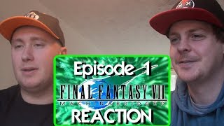 Final Fantasy VII: Machinabridged (#FF7MA) - Ep. 1 REACTION