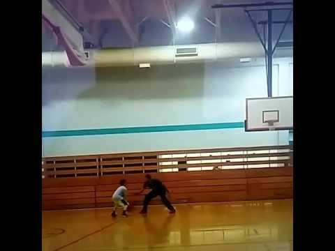 Malik Hicks basketball