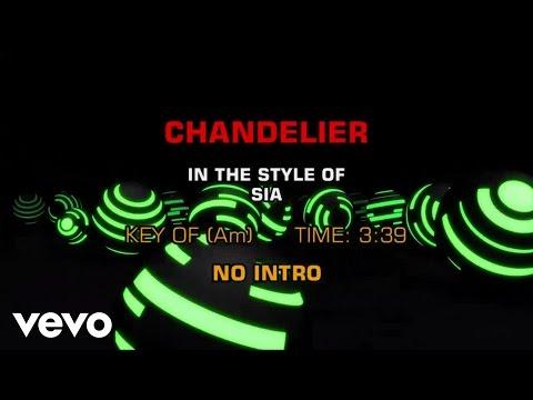 Sia - Chandelier (Karaoke)