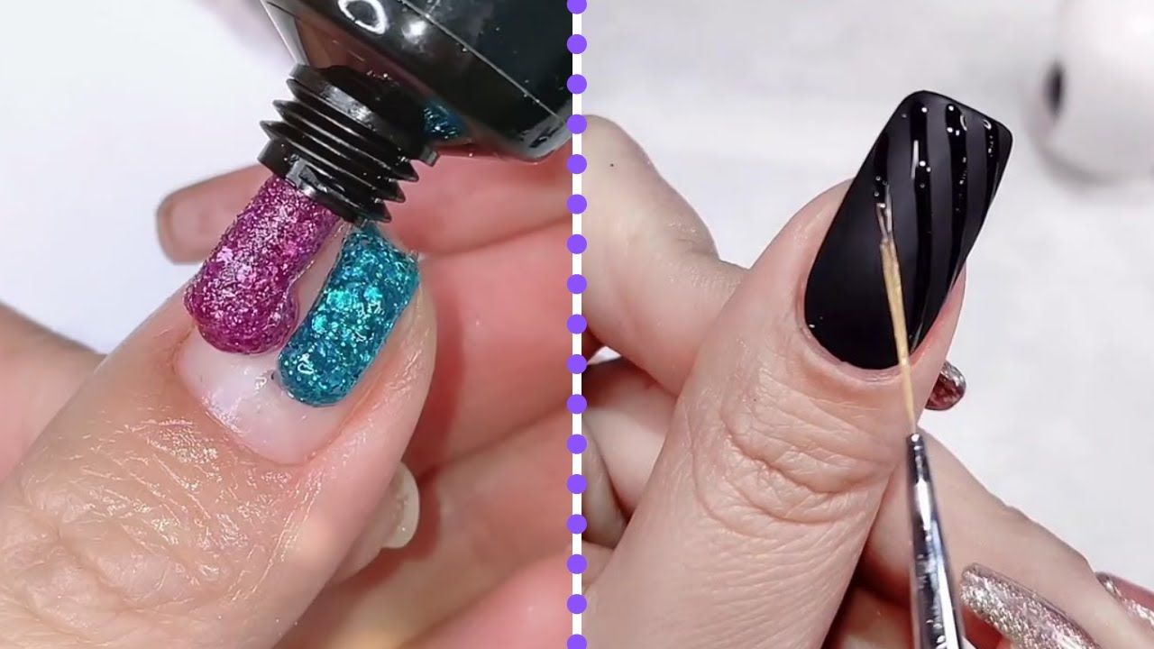 Top Nail Color and Manicure Ideas for You | Satisfying Nails Art Tutorial | Nails Inspiration