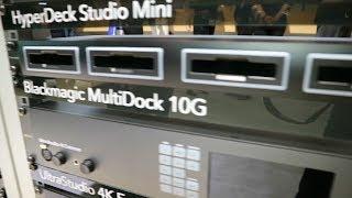 Blackmagic Design MultiDock 10G - Quad SSD Drive Dock for USB-C - NAB 2019