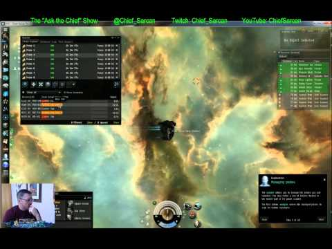 Learning to be a Pilot again - Exploration Tutorial Pt 1 - Eve Online