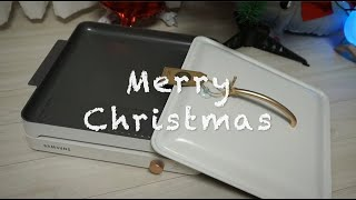 [이색 크리스마스 선물] 삼성 인덕션 더 플레이트 언박…