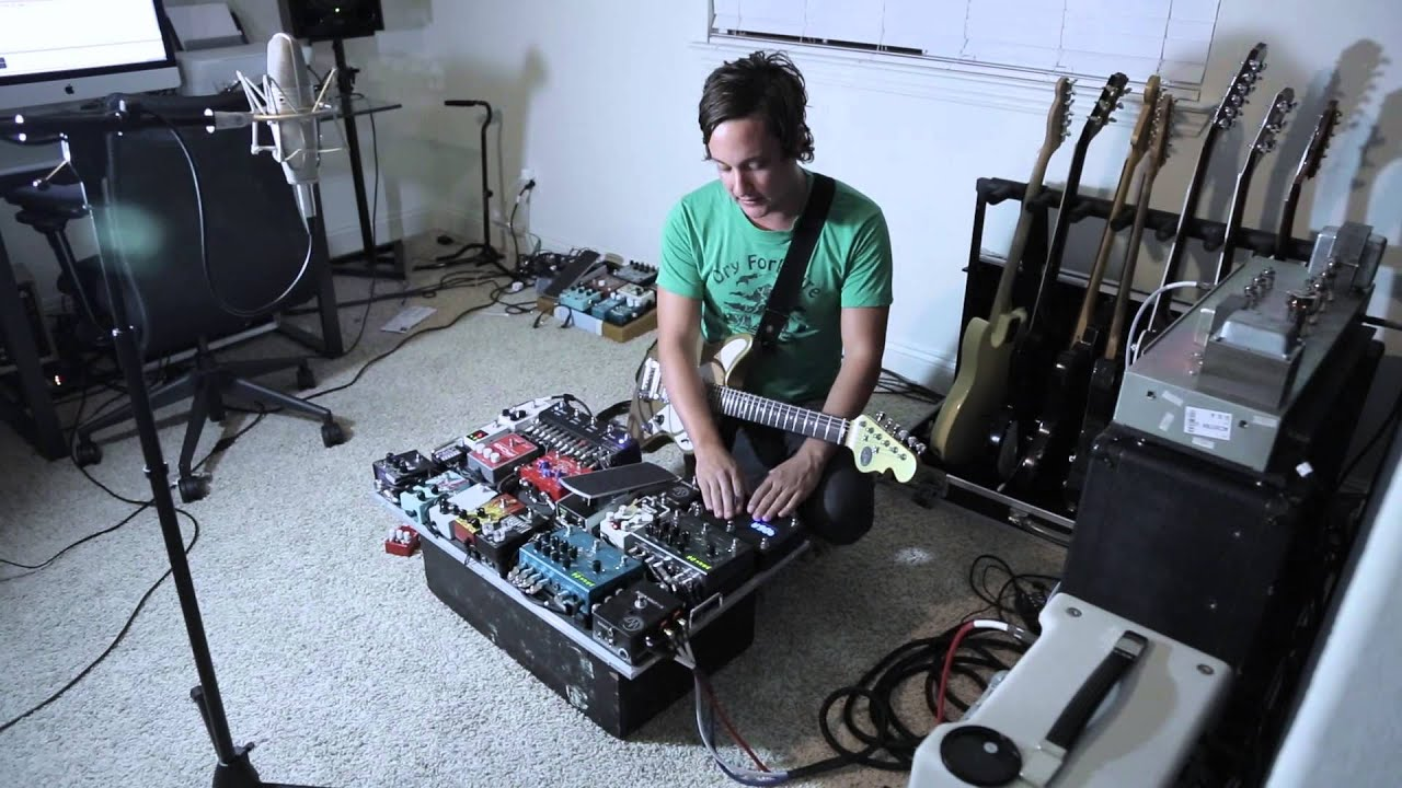Jeffrey Kunde Pedal Board YouTube