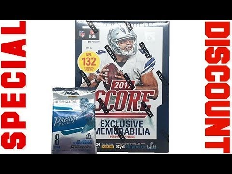 Special discount on 2017 NFL Score Football Cards Factory Sealed Panini  Retail Box 2018 b97060eca