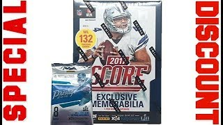 Special discount on 2017 NFL Score Football Cards Factory Sealed Panini Retail Box 2018