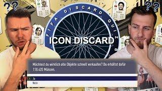 FIFA 19: ICON QUIZ DISCARD BATTLE vs STYLO 😱😱 ICON DISCARD