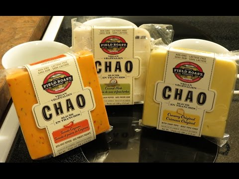Field Roast Chao Cheese Review! All 3 Flavors!! (Vegan, Dairy-free)
