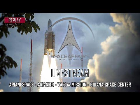 Arianespace - Ariane 5 - VA 254 Mission - Guiana Space Center - Kourou - July 30, 2021