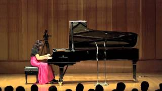 Cuatro piezas españolas-I. Aragonesa (Falla): Hisako Hiseki