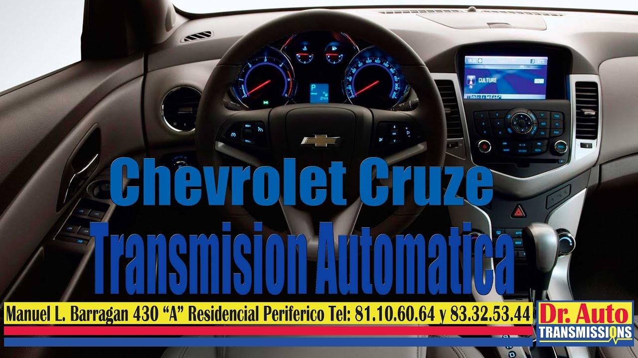Cevrolet Cruze Transmision Automatica 6t40 E Youtube