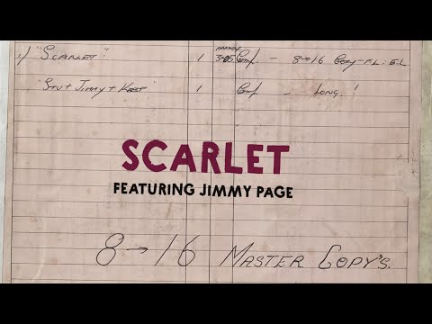 The Rolling Stones | Scarlet (Goats Head Soup 2020) | Lyric video