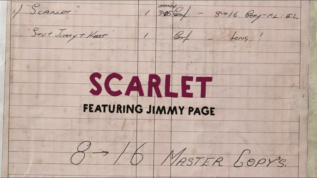 The Rolling Stones Feat. Jimmy Page - Scarlet