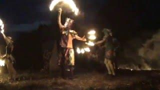 Игры огня на фестивале Небо 2012 (10.08.2012)