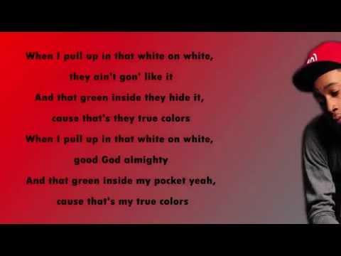 Wiz Khalifa - True Colors (Lyrics) Feat. Nicki Minaj