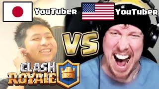 【クラロワ】世界の大物YouTuber「Ash」とガチBO5してみた。【cla…