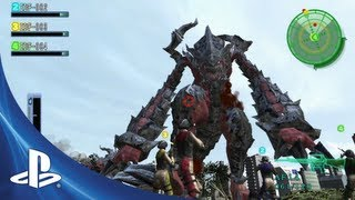 Earth Defense Force 2017 Portable for PS Vita: Launch Trailer