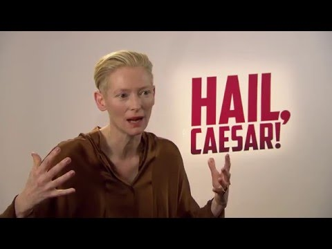 Hail, Caesar! Interview - Tilda Swinton