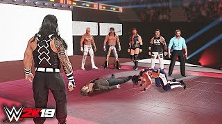 WWE 2K19 Custom Story - AEW Wrestling TakeOver WWE Raw 2019 ft. The Shield, Lesnar - Part 4