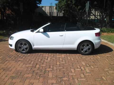 2010 AUDI A3 CABRIOLET 1.8 Tfsi Ambition Auto For Sale On Auto ...