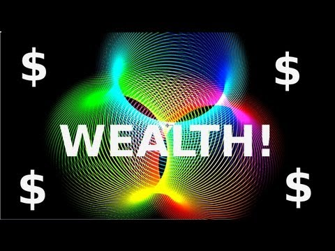 Law Of Attraction Money $$$ - WEALTH! - One Word (((Hypnotic $$ Attractor & Binaural Beats