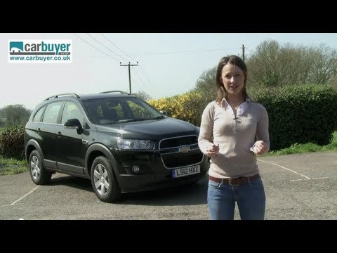 Chevrolet Captiva SUV review – CarBuyer