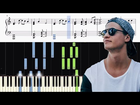 Kygo - Kids In Love Feat. The Night Game - Piano Tutorial + SHEETS