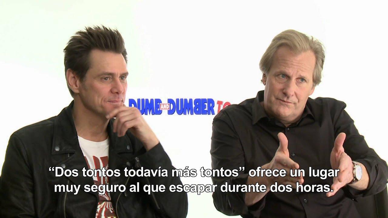 Dos tontos todav a m s tontos entrevista con jim carrey - Dos mas dos ...